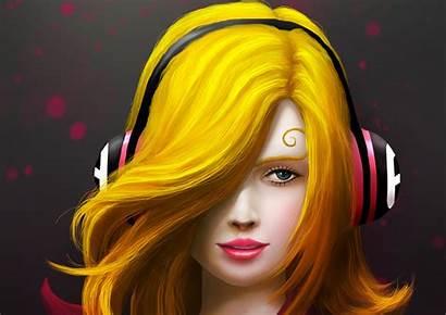 Painting Headphones Wallpapers Artist 4k Artwork Digital