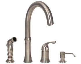 4 kitchen faucets sink faucet design brushed nickel 4 kitchen faucets polished chrome silver bronze brown