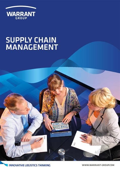 supply chain management  warrant group issuu