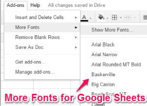 Google docs has just made it possible for users to make a full copy of the document, including comments. How To Use More Than Default 6 Fonts In Google Sheets