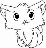 Coloring Pages Kitten Newborn Chimes Wind Kittens Cartoon Kitty Cats sketch template