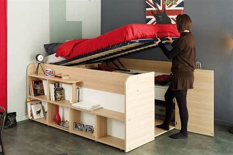 bed frame and mattress set clever bed designs with integrated storage for max efficiency
