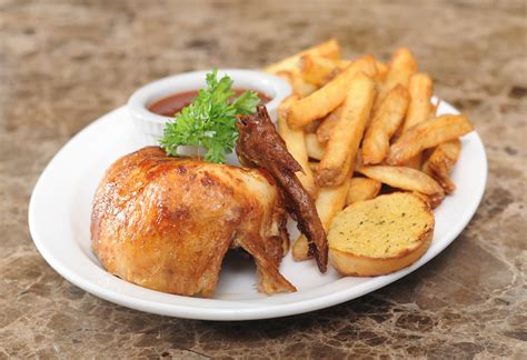 chicken dinners quarter chicken dinner famous rottisserie order online delivery takeout dine in