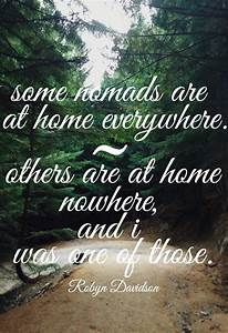 17 of 2017'... Robyn Davidson Nomad Quotes