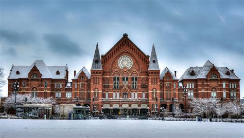Explore all the exciting concerts and events performed in historic music hall. Cincinnati Music Hall Photograph by Rick Hartigan