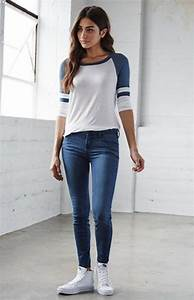 50 Hot Skinny Jeans Outfits For Girls - Lava360
