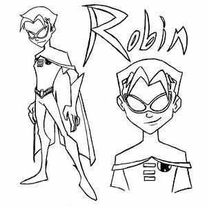 The Batman Robin line art by Maygirl96 on DeviantArt