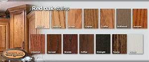 Red Oak Cabinet Stain Colors Country Kitchen Color Ideas