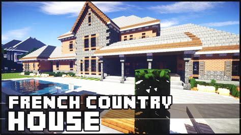 minecraft country house minecraft country house