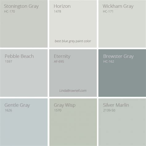 9 fascinating best blue gray paint color choices for any room lindabrownell