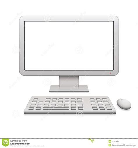 bureau des entr馥s ordinateur de bureau moderne images stock image 22303854