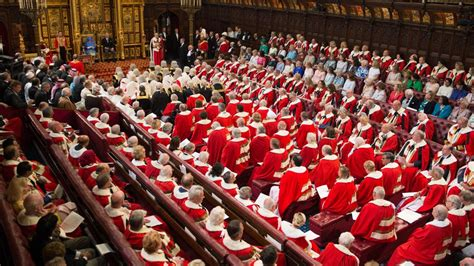 Plans For House Of Lords Reform Propose Cut In Number Of Peers