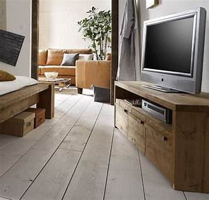Massivholz Tv Möbel : massivholz tv lowboard tv m bel fernsehschrank vollholz rustikal antik gewachst ~ Sanjose-hotels-ca.com Haus und Dekorationen