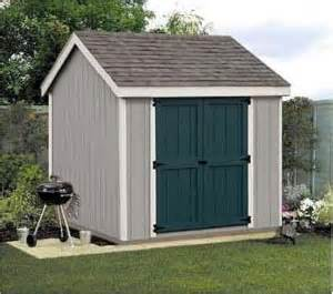 shed plans 8x8