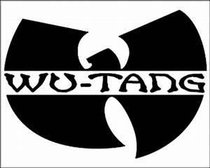 Wu-Tang Clan Logo Sticker