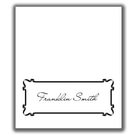 Place Card Template Place Card Template 5