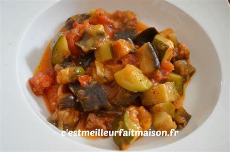 recette de cuisine avec aubergine ratatouille thermomix c 39 est meilleur fait maison