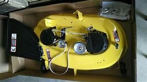 New John Deere Oem 42 U0026quot  Complete Mower Deck Auc13429