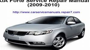 Service Repair Manual Kia Forte 2009 2010