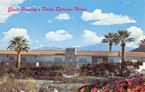 Elvis Presley Home in Palm Springs California