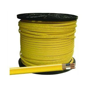 romex 1000 spool 12 2 wire nm b awg residential cable ebay