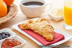 continental breakfast - photo/picture definition at Photo ...