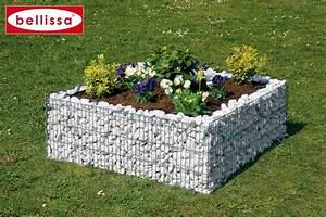 Cultivez un petit potager dans un gabion carre for Decorer son jardin avec des galets 7 cultivez un petit potager dans un gabion carre