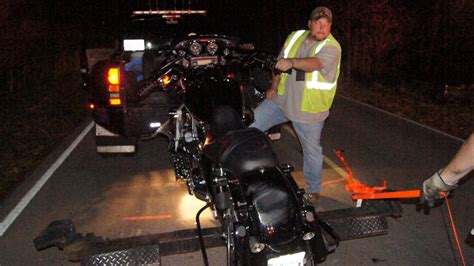 Driver Critical After Motorcycle Crash