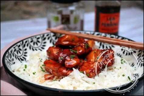 recettes de cuisine au wok recette wok de poulet caramélisé au miel
