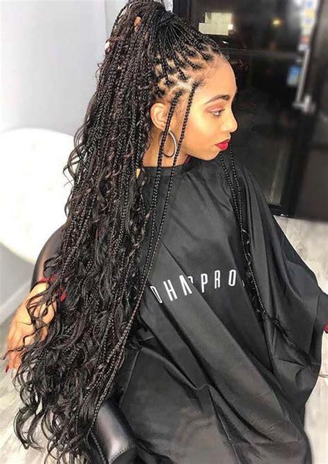 trendy ways  wear individual braids  season