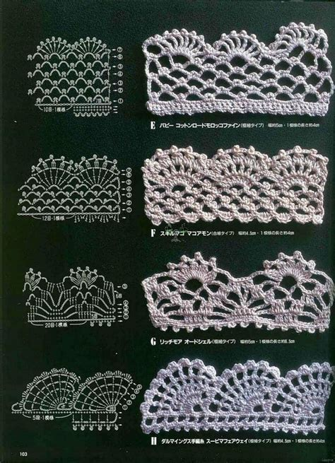 crochet edging patterns 25 best ideas about crochet trim on pinterest crochet
