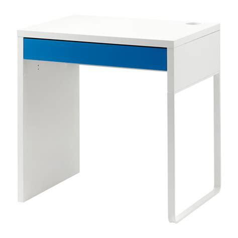 bureau bleu ikea micke bureau blanc bleu ikea