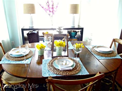 how to decorate your kitchen table everyday easter table everyday mrs