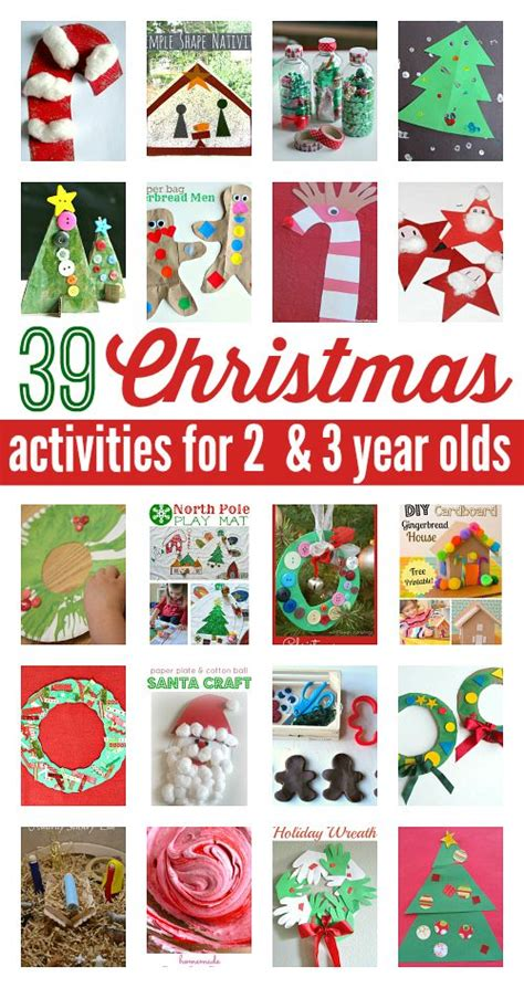 39 christmas activities for 2 and 3 year olds activities