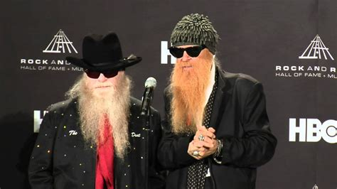 billy gibbons  dusty hill  zz top   hall