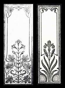 Jugendstil Florale Ornamente : jugendstil glasscheiben glasdekore teufel ~ Orissabook.com Haus und Dekorationen