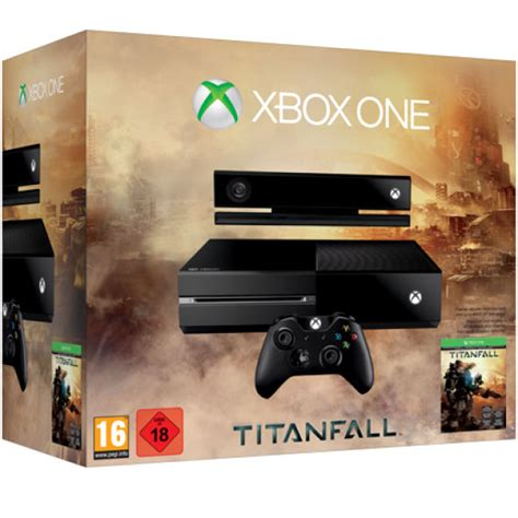xbox one console includes titanfall consoles