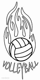 Volleyball Coloring Pages Printable Court Sheets Sports Cool2bkids Player Template Templates Under Sport sketch template