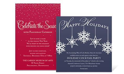 invitation wording sles by invitationconsultants com corporate holiday party