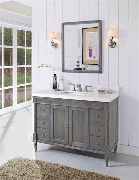 fairmont designs   rustic chic  bathroom vanity