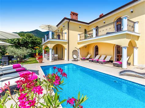 Holiday House Villa Orhidea In Opatija Ičići, Croatia