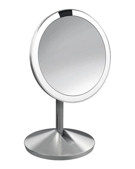 simplehuman vanity mirror simplehuman 5 quot sensor makeup mirror with travel