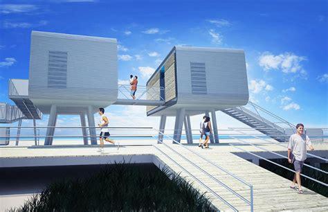 solve flooding  hurricane  beach home plans