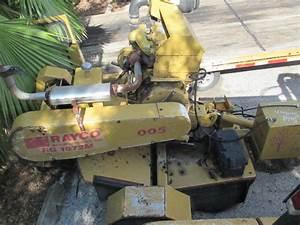 Rayco Rg1672m Tow Behind Stump Grinder Cutter 70hp Deutz Diesel Bad Motor