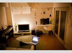 2種類のラグで部屋を分ける 真似したくなる!一人暮らしインテリア 1K・ワンルームレイアウト【男子部屋