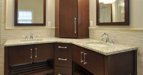 corner kitchen sink pictures corner wall hung vanity with corner tower and matching 5852
