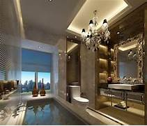 Luxurious Interior Design Luxury Bathroom Interior Design By European Style 3D House Free 3D