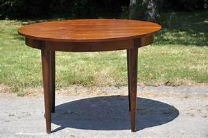 Table Ronde Extensible Bois : table ronde bois extensible metal clair basse blanc ~ Teatrodelosmanantiales.com Idées de Décoration
