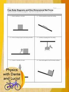 Free Body Diagram  U0026 Net Force Practice Worksheet