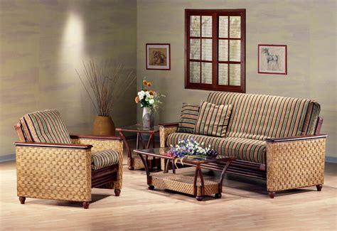 magnolia rattan futon frame by day furniture